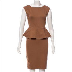 Like New |Alice +Olivia peplum Dress